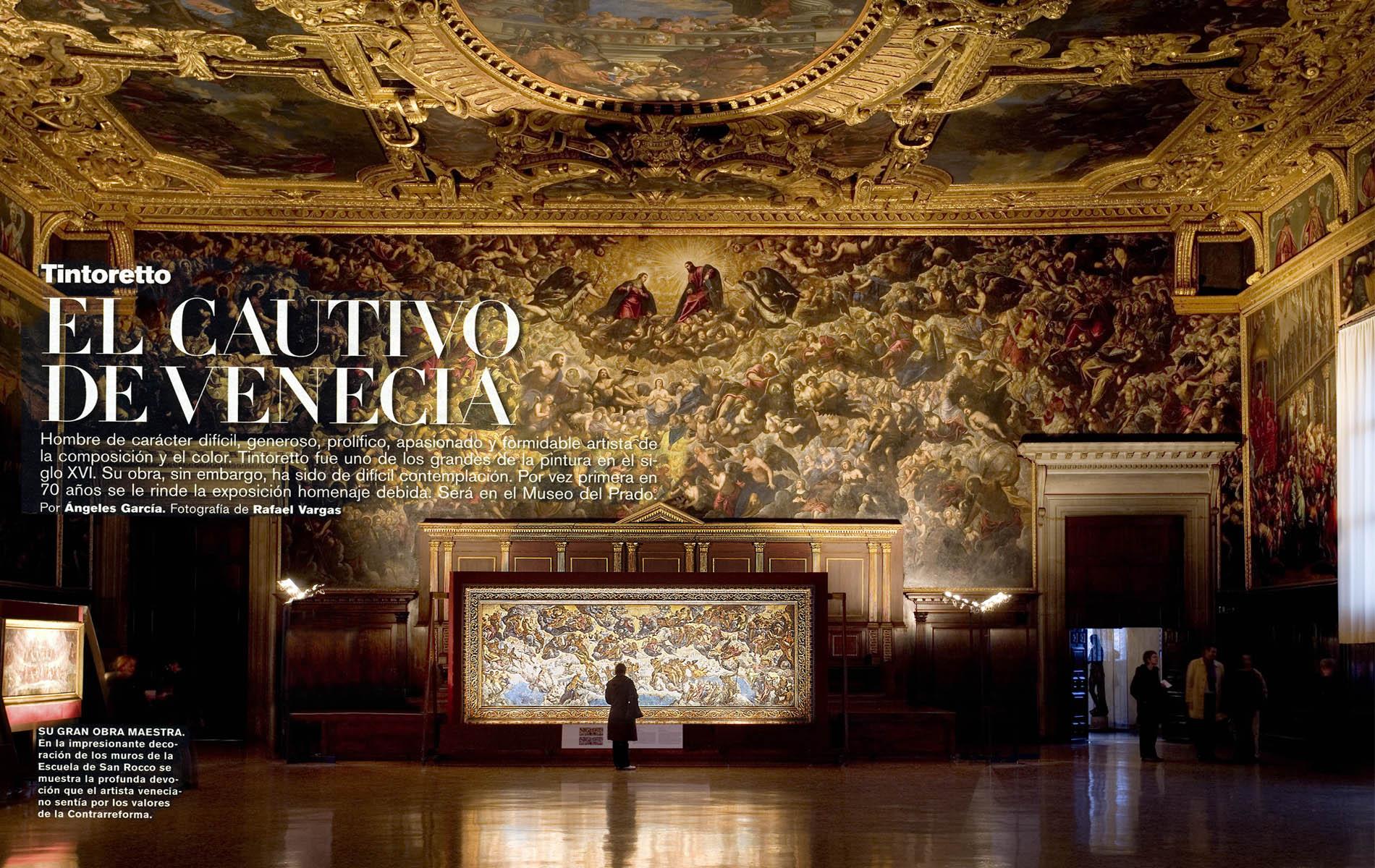 Tintoretto, el cautivo de Venecia.